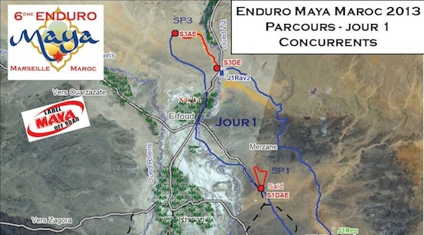 Enduro Maya Maroc Jour 1