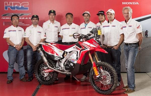 Team HRC Dakar 2014