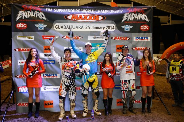 SuperEnduro GP du Mexique: avantage Knight