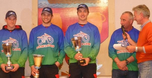 Les pilotes EC2M sur le podium de la Coupe des Régions