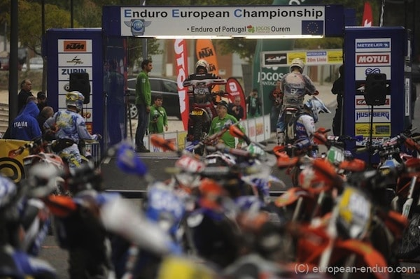 Les engagés au Championnat d'Europe d'enduro