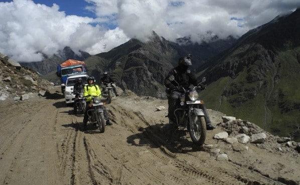 Ladakh Road, un raid indien par Amada