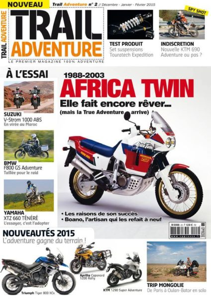 enduro magazine trail adventure magazine 2 est en kiosque enduro magazine. Black Bedroom Furniture Sets. Home Design Ideas