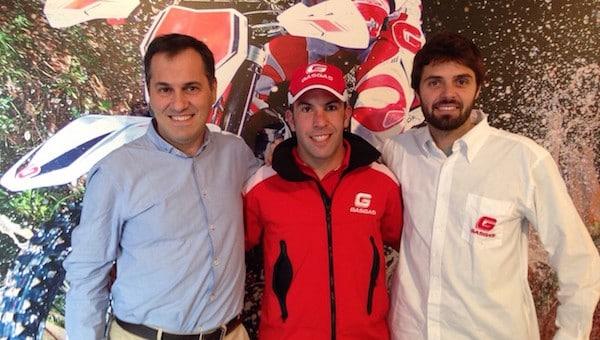Jonathan Barragan pilote officiel Gas Gas en Mondial Enduro