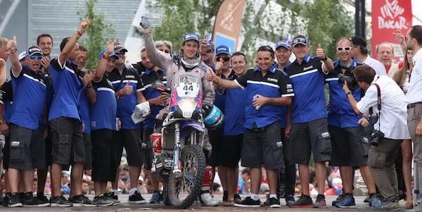Xavier de Soultrait - Dakar 2015