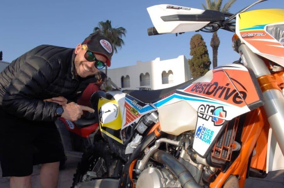 David Casteu à l'Enduro d'Agadir © Casteu.fr