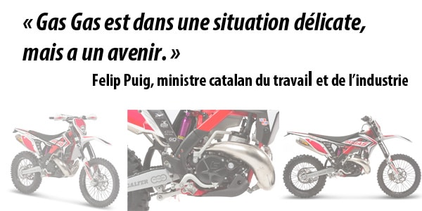 Gas Gas: le point sur la situation