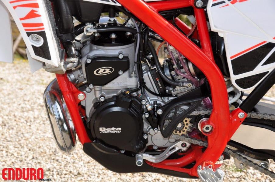 Le moteur de la Beta 300  RR à la sauce XTrainer.