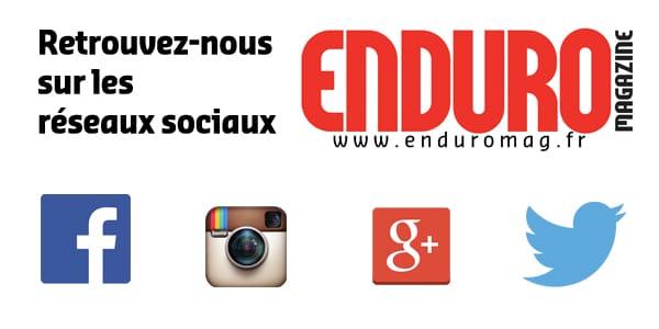 Enduro Mag sur les réseaux sociaux