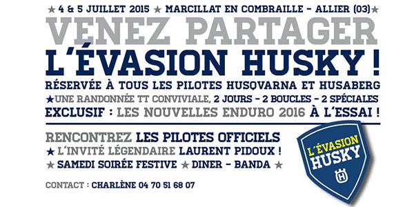 Evasion Husky 2015