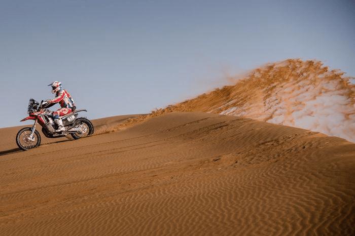 Rallye OiLibya du Maroc ; mercredi, Honda survole les dunes