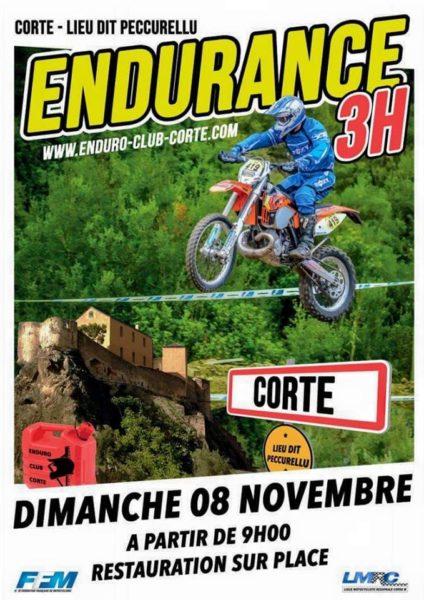 2ème Endurance de Corté, on s'envole en Corse
