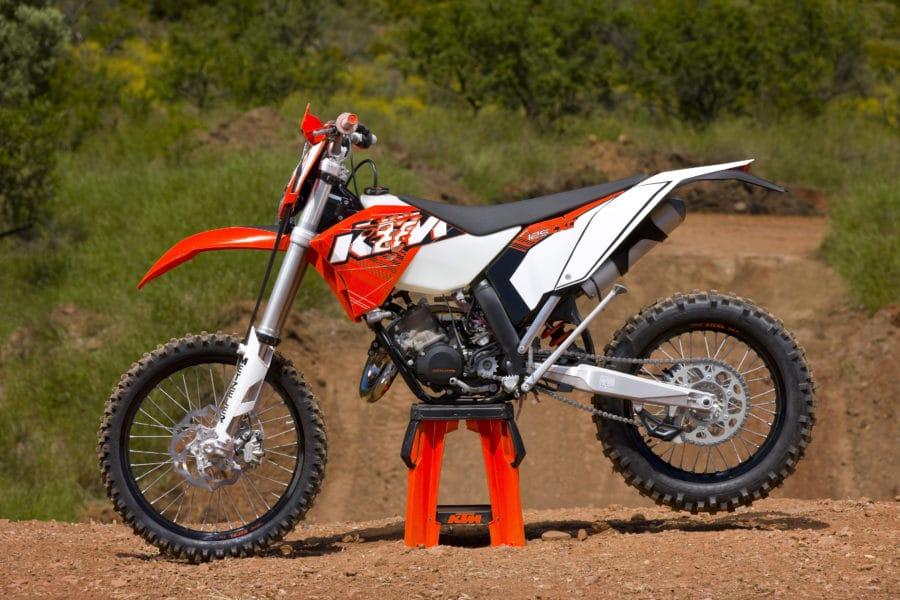 KTM 125 EXC 2011