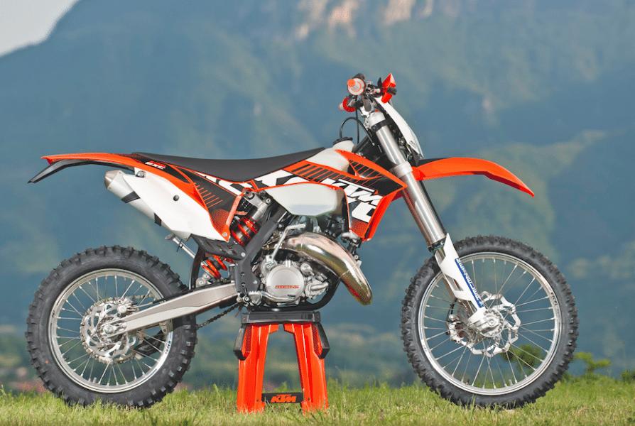 KTM 200 EXC 2012
