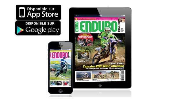 Enduromag sur tablette et smartphone