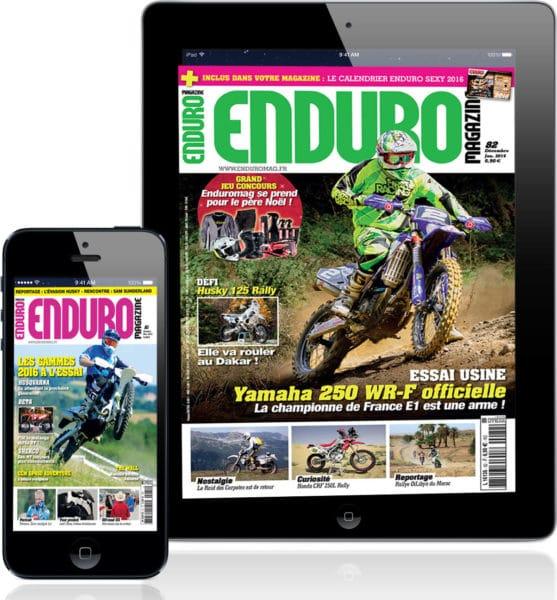 enduro magazine enduromag sur tablette et smartphone enduro magazine. Black Bedroom Furniture Sets. Home Design Ideas