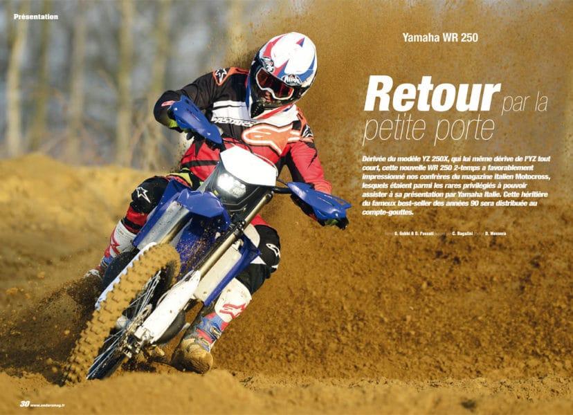 Yamaha WR250 2-temps