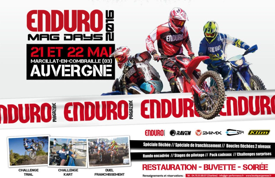 enduromag days 2016