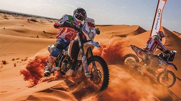 rallye au maroc