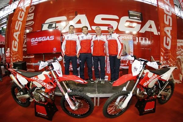 Torrot présente le team GasGas officiel à Lyon