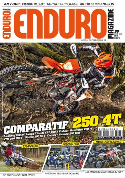 Enduro Mag 96 carbure aux essais !