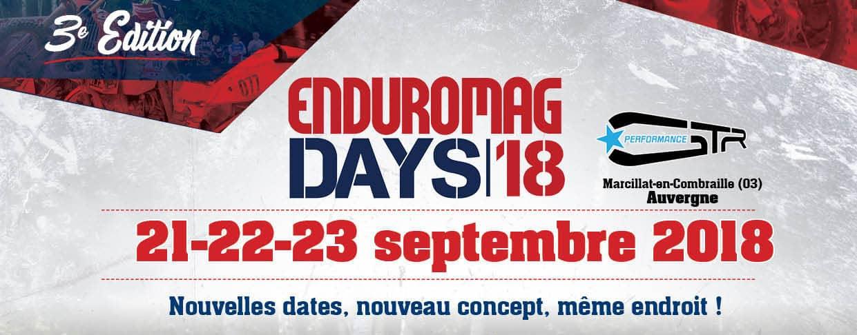 Enduromag Days 2018 : le programme complet