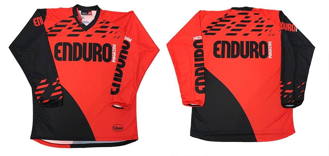 maillot Enduro Magazine 2019