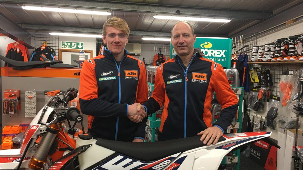 Le champion du monde Junior de SuperEnduro signe KTM Eurotek