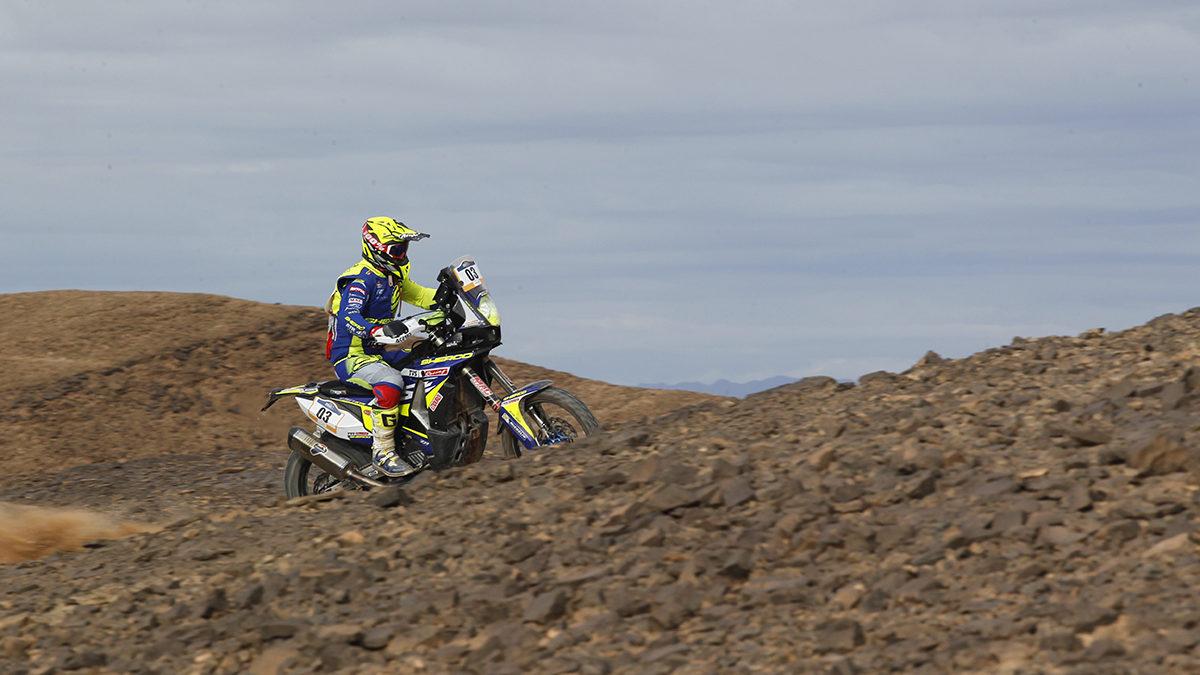 Afriquia Merzouga Rally étape 1 pour VBA