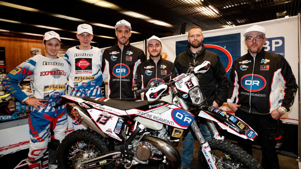 Le TTR Officine Rigamonti Team s'engage en WESS avec Pol Tarres