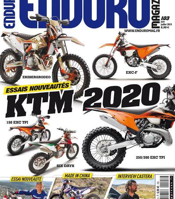 Enduro Magazine # 103 : il est là !