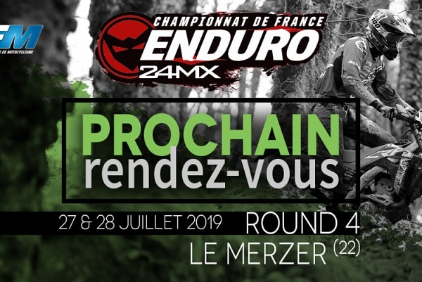 Championnat de France d'enduro 24MX en Bretagne ce WE