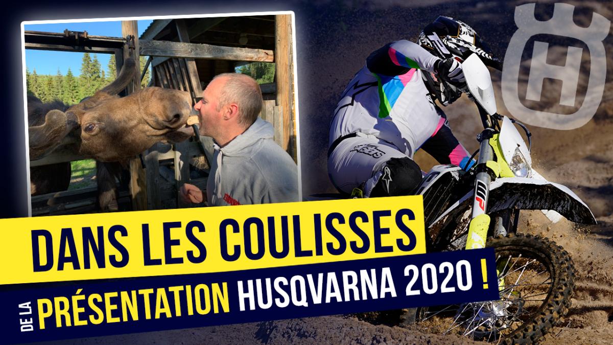 On vous emmène à la présentation Husqvarna 2020