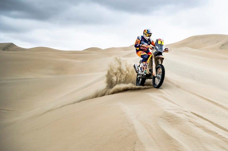 Toby Price de retour en selle à l'Atacama Rally
