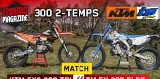 Match 2-temps KTM/TM