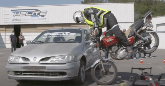 Crash-test airbag