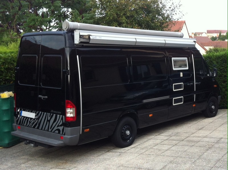 enduro magazine mercedes sprinter long 313 cdi camping car. Black Bedroom Furniture Sets. Home Design Ideas