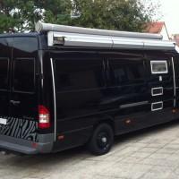 Mercedes sprinter long 313 cdi camping-car soute